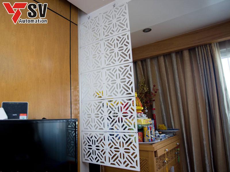 Vách ngăn CNC bàn thờ tại các căn hộ chung cư