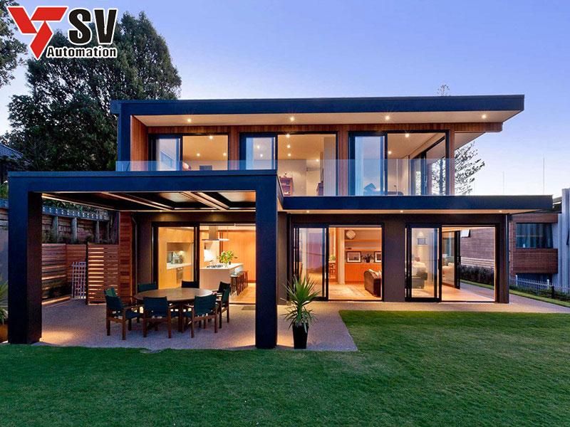 Mẫu nhà thép tiền chế 2 tầng với xu hướng hiện đại, cao cấp và gần gũi với môi trường