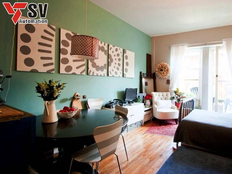 Trang trí nội thất sẽ giúp không gian sống của thêm thoáng đãng và đầy sức sống