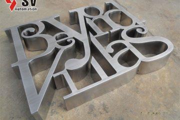 Tùy vào nhu cầu của bạn mà bạn có thể chọn kim loại phù hợp để gia công chữ nổi