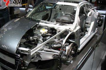 Cắt Laser bộ phận Hydroformed xe ô tô