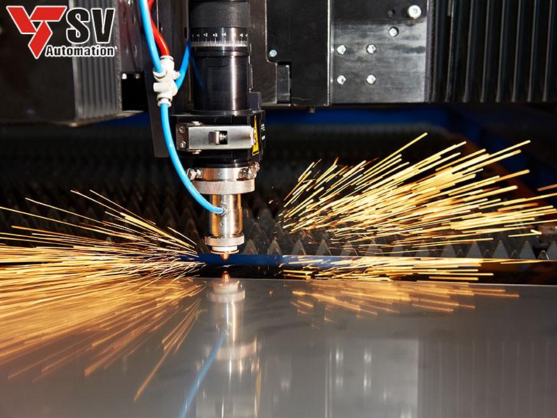 Gia công hoa văn trên kim loại bằng phương pháp Laser