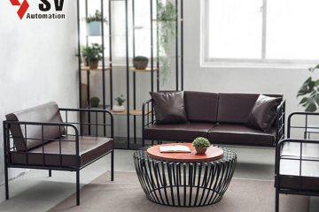 Sản phẩm nội thất từ sắt mang đến cảm giác giản dị nhưng không kém phần sang trọng
